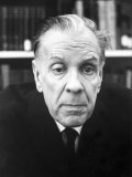 Author Jorge Luis Borges Premium Photographic Print by Charles H. Phillips