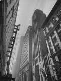 Wall Street of the West, Great Office Buildings, Banks, Brokerages and Export-Import Firms Photographic Print by Hansel Mieth
