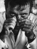 "Richard Burton in a Scene from Motion Picture ""The Night of the Iguana"" Reproduction photographique Premium par Gjon Mili"