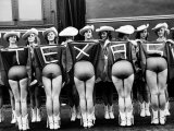 Texas Rangerettes Performing During Inauguration Festivities for Dwight D. Eisenhower Photographic Print by Hank Walker