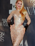 Jerry Hall at VH1 Fashion and Music Awards Premium Photographic Print