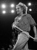 Rod Stewart on Stage at M.S.G Premium Photographic Print