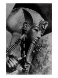 Image of the Head of the Outer Coffin of Tutankhamen, Ancient Egyptian Pharaoh Photographic Print