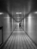 Hallway in the Mayo Clinic Photographic Print by Alfred Eisenstaedt