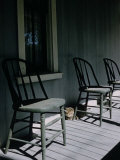 Eisie's Chairs Photographic Print by Alfred Eisenstaedt