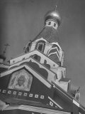 Ornate Russian Catholic Church in This Town in the Ruthenia Section of the Country Premium Photographic Print by Margaret Bourke-White