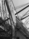 Prow of the Sailing Ship Luther Little Premium Photographic Print by Alfred Eisenstaedt