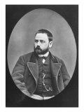 Emile Zola, c. 1870-80, Giclee Print