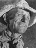 Kansas Farmer Reproduction photographique sur papier de qualité par Margaret Bourke-White