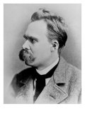 German Philosopher Friedrich Nietzsche, Posing at the Time of His Writing, 1844-1900 Photographic Print