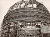 Dome under Construction to House 200-Inch Telescope at Observatory on Mt. Palomar Premium Photographic Print by Margaret Bourke-White