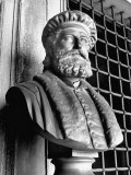 Bust of Explorer Marco Polo, 1254-1324 Premium Photographic Print by John Phillips