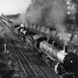 Wartime Railroading: Double-Header on Charleston-Western Carolina Line Photographic Print by Alfred Eisenstaedt