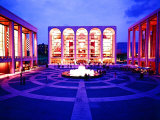 Newly Completed Lincoln Center Fotografie-Druck von Michael Rougier