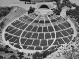 Aerial View of the Hollywood Bowl Amphitheater Photographic Print by Rex Hardy Jr.