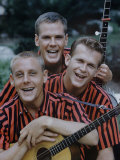 Kingston Trio Premium Photographic Print by Alfred Eisenstaedt