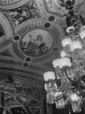 Paintings and Details on the Ceiling of the President's Room in the US Capitol Building Premium Photographic Print by Margaret Bourke-White