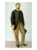 Portrait of French Engineer Alexandre Gustave Eiffel from English Periodical Vanity Fair Photographic Print