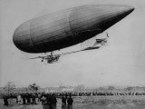 E. T. Willows No. 3 Airship Premium Photographic Print