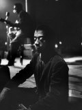 American Author James Baldwin Premium Photographic Print by Carl Mydans