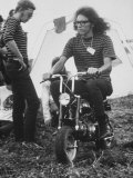 Jorma Kaukonen of Jefferson Airplane at Woodstock Music Festival Premium Photographic Print by Bill Eppridge