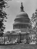 US Capitol Building Photographic Print by Andreas Feininger