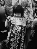Hawaiians Celebrating their Admission to the US Premium Photographic Print by Leonard Mccombe
