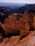 Trail of Tourists Hiking Though Rock Formations of Bryce Canyon Premium Photographic Print by Eliot Elisofon