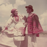 Yugoslav National Costumes Photographic Print by Walter Sanders