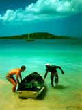 The Caribbean Premium Photographic Print by Eliot Elisofon