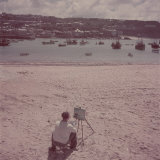 St. Ives Artists' Colony, Cornwall, England Reproduction photographique par Mark Kauffman