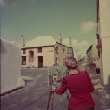 St. Ives Artists&#39; Colony, Cornwall, England Photographic Print by Mark Kauffman