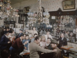 Crystal Bar, Virginia City, Nevada, 1945 Premium Photographic Print by Nat Farbman