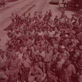 Hagannah Soldiers Photographic Print by Frank Scherschel