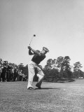 Gene Sarazen in Swinging Motion Premium Photographic Print by Robert W. Kelley