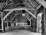 View of the Interior of the Mayflower Barn from a Story Concerning William Penn Photographic Print by Hans Wild