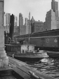 Port of New York Premium Photographic Print by Andreas Feininger