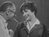 Movie Director Billy Wilder with Actress Shirley MacLaine on Set During Filming of The Apartment Premium Photographic Print by Grey Villet