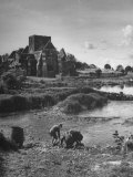 View of a Ruined Church That Once Housed Cistercian Monks Premium Photographic Print by Hans Wild