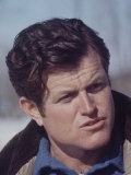 Senator Edward M. Kennedy in Alaska Premium Photographic Print by Art Rickerby
