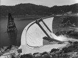 Shasta Dam Premium Photographic Print by Andreas Feininger