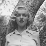 Marilyn Monroe Premium-Fotodruck von Ed Clark