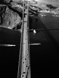 Aerial View of the Golden Gate Bridge Photographic Print by Margaret Bourke-White