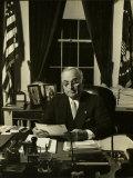 President Harry S. Truman Fotografie-Druck von Gjon Mili