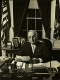 President Harry S. Truman Photographic Print by Gjon Mili