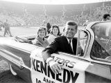 John F. Kennedy, Democratic Convention Photographic Print by Paul Schutzer