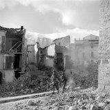 8th Army in Italy World War II Photographic Print by George Rodger