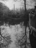 People Looking across the Ravensbourne Toward Outlying Sections of the City Premium Photographic Print by Ian Smith