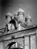 Onion Domes of Russian Orthodox Church Premium Photographic Print by Margaret Bourke-White