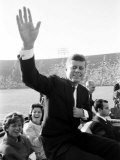 John F. Kennedy, Democratic Convention Premium Photographic Print by Paul Schutzer
